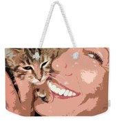 Perfect Smile Weekender Tote Bag