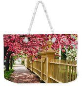 Perfect Time For A Spring Walk Weekender Tote Bag