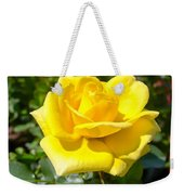 Perfect Yellow Rose Weekender Tote Bag