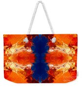 Perfectly Balanced Philosophies Abstract Pattern Art By Omaste Witkowski Weekender Tote Bag