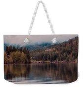 Perfectly Cloudy Lake Weekender Tote Bag