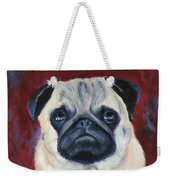 Perfectly Pug Weekender Tote Bag