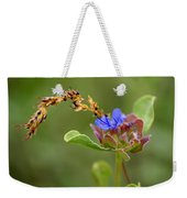 Perfectly Wonderous Flowerland Weekender Tote Bag