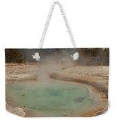 Perforated Pool In West Thumb Geyser Basin Weekender Tote Bag