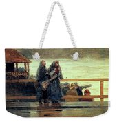 Perils Of The Sea 1881 Weekender Tote Bag
