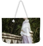 Period Lady On Bridge Weekender Tote Bag