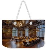 Periodical Room At The New York Public Library Weekender Tote Bag