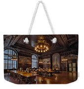 Periodicals Room New York Public Library Weekender Tote Bag