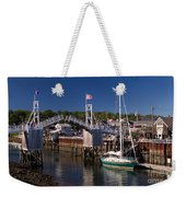 Perkins Cove Ogunquit Maine Weekender Tote Bag