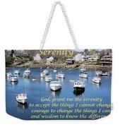 Perkins Cove Serenity Weekender Tote Bag