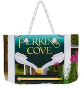Perkins Cove Sign Weekender Tote Bag