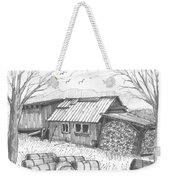 Perkins Maple Sugar House Weekender Tote Bag