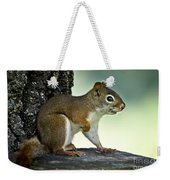 Perky Squirrel Weekender Tote Bag