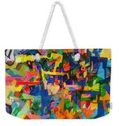 Perpetual Encounter With Providence 7a Weekender Tote Bag