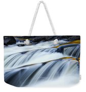Perpetual Falling Weekender Tote Bag by Aimelle