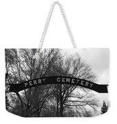 Perry Cemetery Weekender Tote Bag