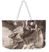 Perseus Cuts Off Medusa's Head Weekender Tote Bag by Bernard Picart