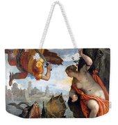 Perseus Rescuing Andromeda Weekender Tote Bag