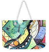 Persistence Of Form Weekender Tote Bag