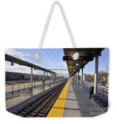 Perspective From The Series The Elements And Principles Of Art-- One Point Rail Weekender Tote Bag