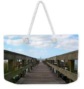 Perspective Lighthouse Weekender Tote Bag