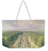 Perspective View Of The Grove From The Galerie Des Antiques At Versailles, 1688 Oil On Canvas Weekender Tote Bag