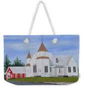 Peru Congregational Church Weekender Tote Bag