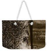 Petal Snow Weekender Tote Bag