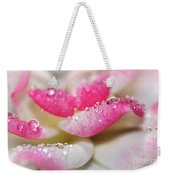 Petals And Droplets Weekender Tote Bag