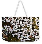 Petals In The Pond Weekender Tote Bag