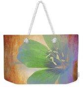Petals Of Color Weekender Tote Bag