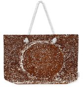 Petals Surround Metal Weekender Tote Bag