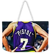 Pete Maravich Weekender Tote Bag by Florian Rodarte