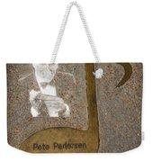 Pete Pedersen Note Weekender Tote Bag