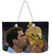 Pete Sampras Weekender Tote Bag by Paul Meijering