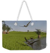 Peteinosaurus Reptiles On The Shore Weekender Tote Bag