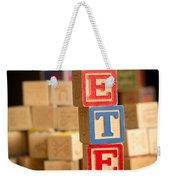 Peter - Alphabet Blocks Weekender Tote Bag