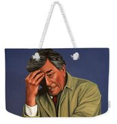 Peter Falk As Columbo Weekender Tote Bag by Paul Meijering