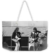 Day On The Green 6-6-76 #2 Weekender Tote Bag