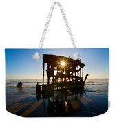 Peter Iredale Shipwreck, Fort Stevens Weekender Tote Bag