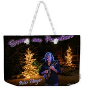 Peter Mayer Stars And Promises Christmas Tour Weekender Tote Bag