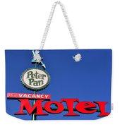 Peter Pan Motel Weekender Tote Bag