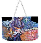 Peter Parcek Plays The Blues Weekender Tote Bag