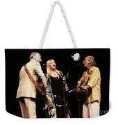 Peter Paul And Mary Weekender Tote Bag