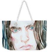 Peter Steele Watercolor Portrait Weekender Tote Bag