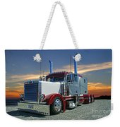 Peterbilt At The Beach  Weekender Tote Bag