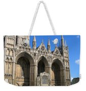 Peterborough Cathedral Weekender Tote Bag