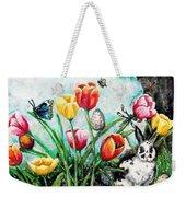 Peters Easter Garden Weekender Tote Bag by Shana Rowe Jackson