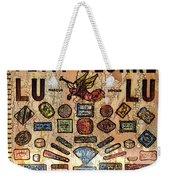 Petit- Beurre Lu Lu Weekender Tote Bag