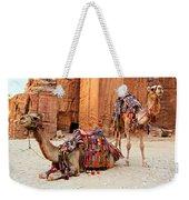 Petra Camels Weekender Tote Bag